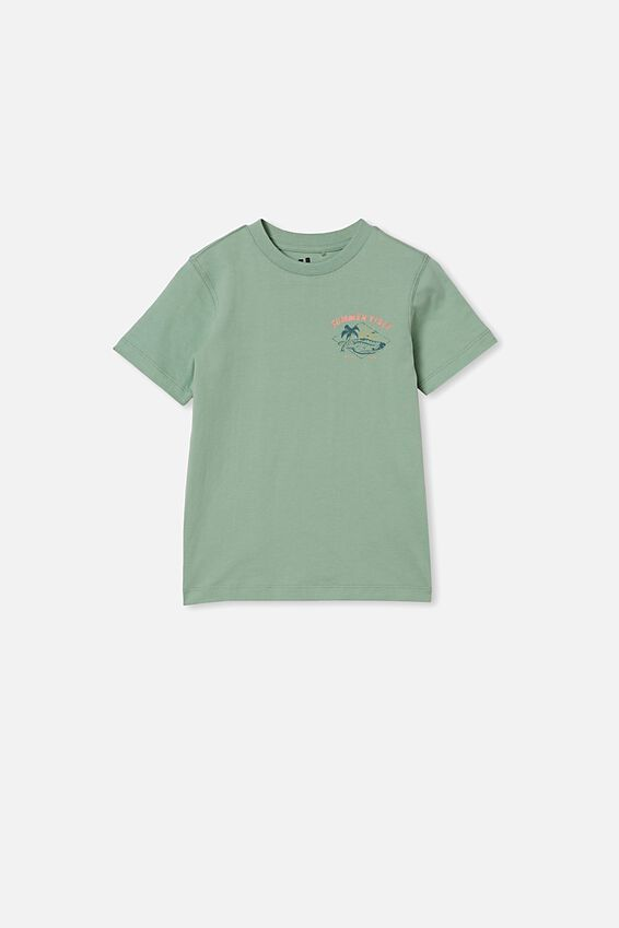 Max Skater Short Sleeve Tee, SMASHED AVO/SUMMER VIBES