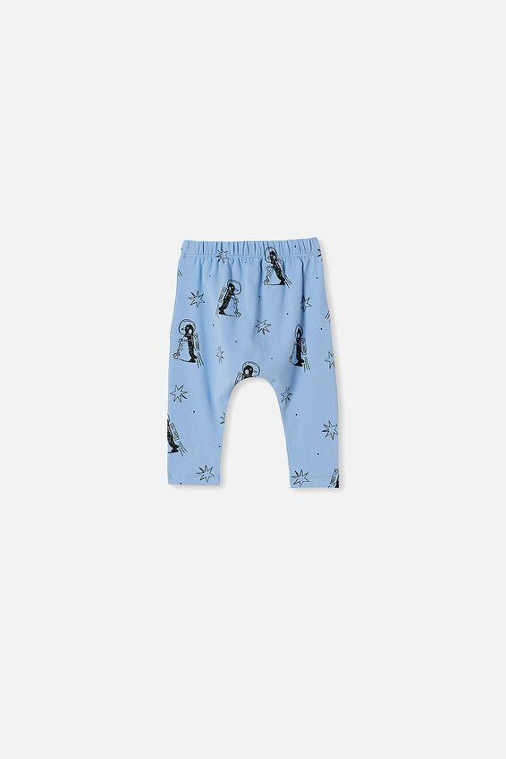 The Legging, POWDER PUFF BLUE PENGUIN ASTRONAUT