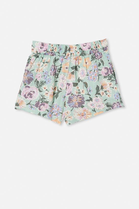 Cassidy Short, DUCK EGG/PAINTERLY FLORAL