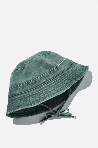 Baby Bucket Hat, SWAG GREEN