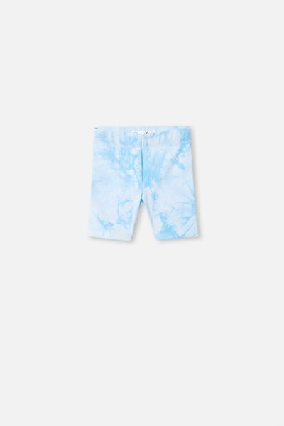 Hailey Bike Short, BLUE BIRD TIE DYE
