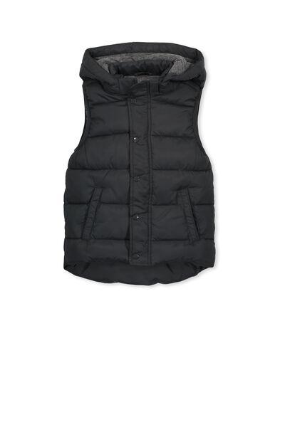 Palmer Puffer Vest, GRAPHITE