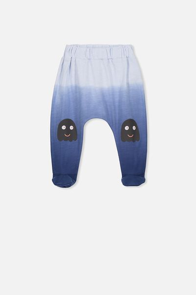 Frankie Footed Pant, INDIGO DIP DYE/MONSTER