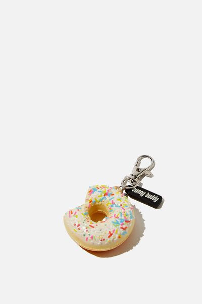 Squishy Bag Charm, DONUT