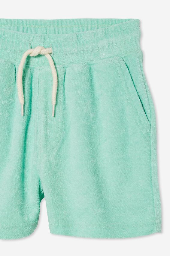 Henry Slouch Short 80/20, MINT BREEZE/TERRY TOWELLING