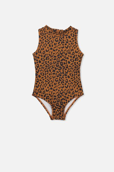 Rachael One Piece, AMBER BROWN ANIMAL