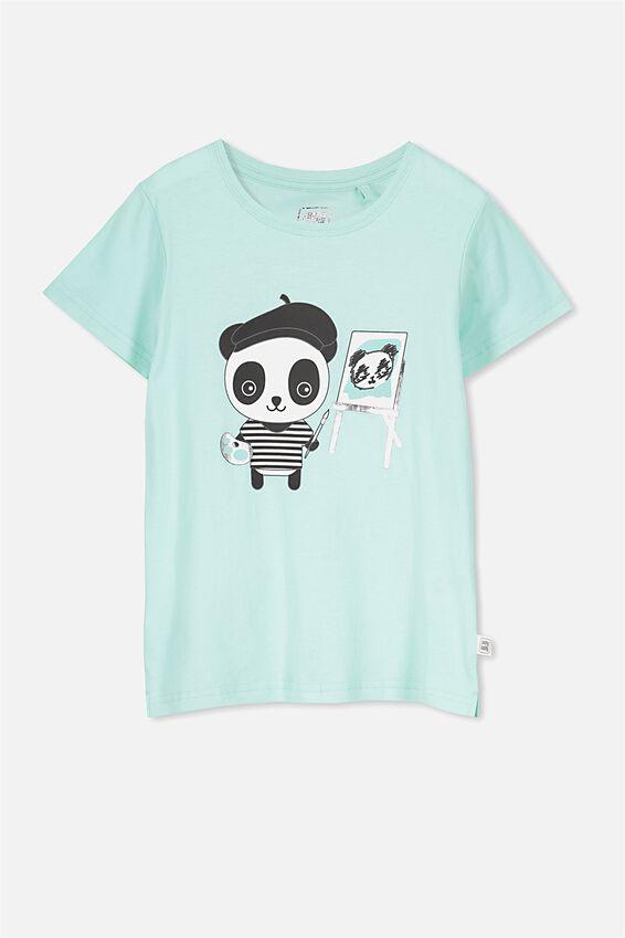 Sunny Buddy Ss T-Shirt, OLI/PAINTING