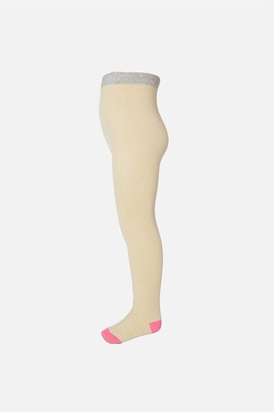 Tilly Tights, SOFT GOLD SHIMMER