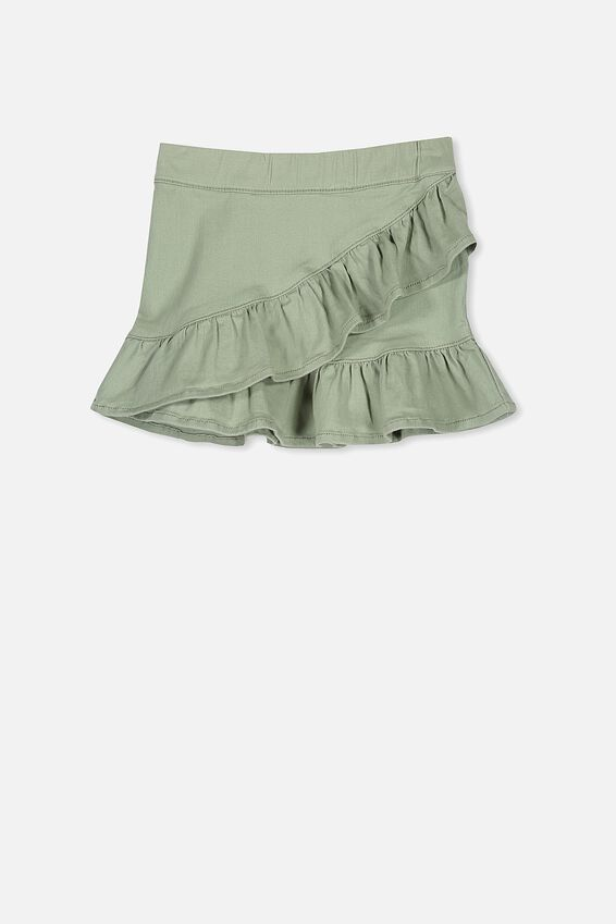 Caddie Frill Skirt, KHAKI
