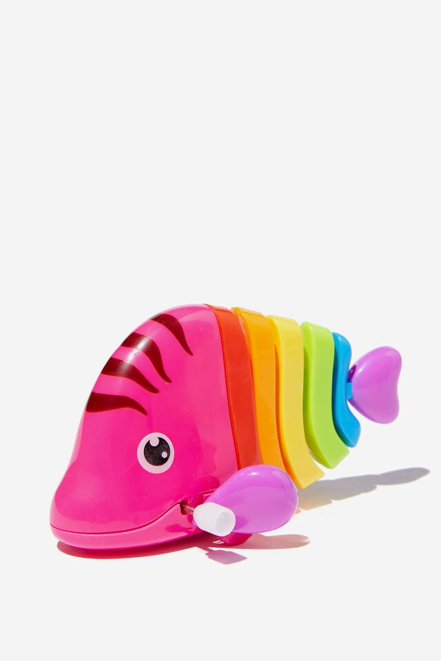 Wind Up Toy, PINK FISH