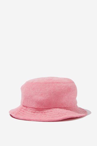 Kids Bucket Hat, ALMOND PINK