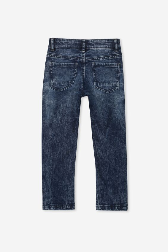 Ollie Slim Leg Jean, DARK DENIM