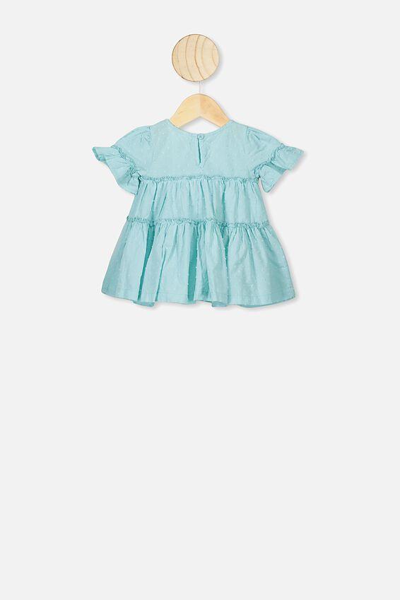 Abby Flutter Dress, DREAM BLUE