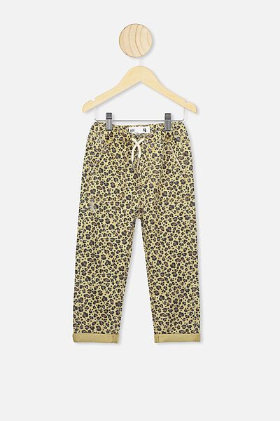 Daria Slouch Jean, SAND DUNE/SNOW LEOPARD
