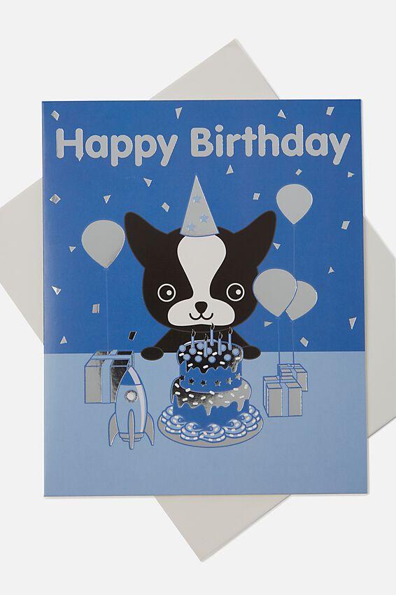 Sunny Buddy Birthday Card, MAX PARTY