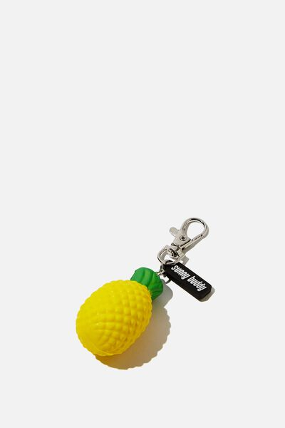 Squishy Bag Charm, PINEAPPLE