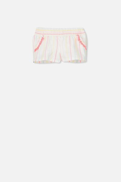 Kate Short, VANILLA/MULTI STRIPE