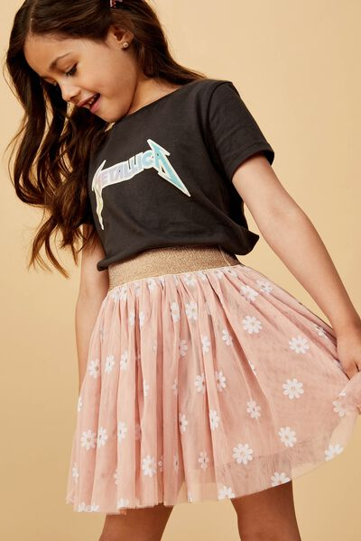 Trixiebelle Tulle Skirt, BISCUIT/DAISIES