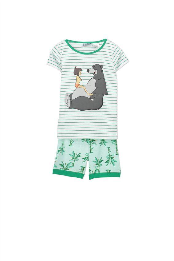 Joshua Boys Short Sleeve Pyjama Set, THE JUNGLE BOOK