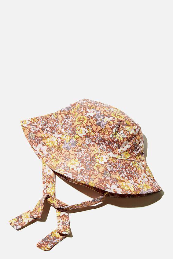 Wide Brim Bucket Hat, ZEPHYR