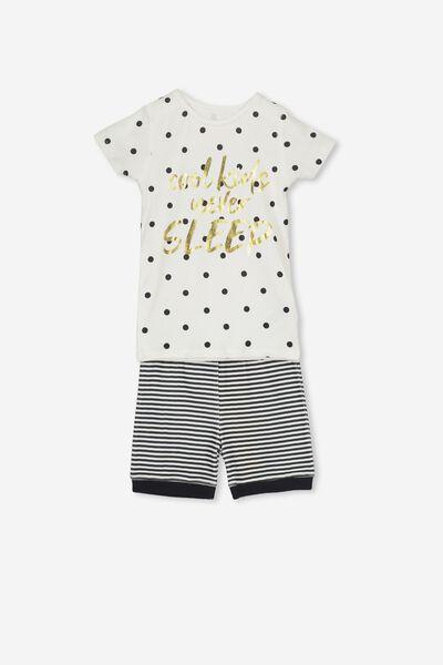 Nicole Short Sleeve Girls Pj, COOL KIDS