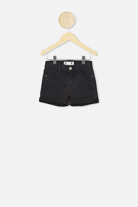 Camilla Denim Short, VINTAGE WASHED BLACK