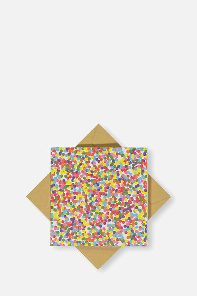 Gift Cards, COLOURED DOTS