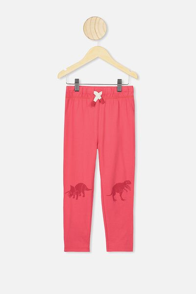 Brooklyn Slouch Pant, TOMATO PUREE/DINO KNEES