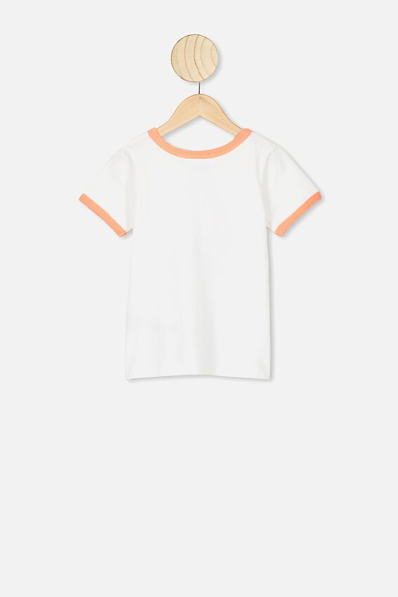 Lux Short Sleeve Tee, LCN DIS WHITE/ARIEL RAISED BY MERMAIDS/RINGER