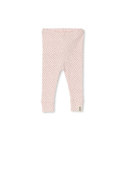 Mini Ribbed Legging, SOFT PINK/GRAPHITE SPOT