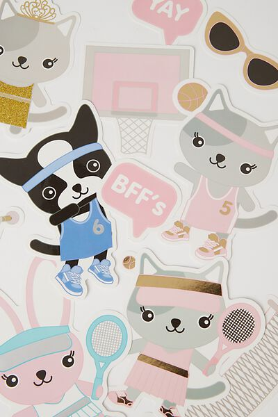Sunny Buddy Wall Stickers, AVA