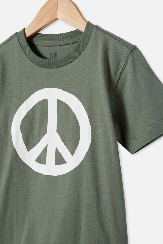 Max Skater Short Sleeve Tee, SWAG GREEN PEACE
