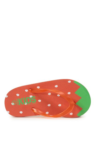 Printed Flip Flop, G STRAWBERRIES