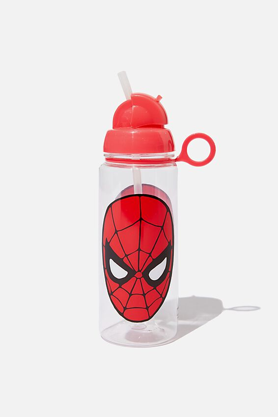 Spring Drink Bottle, LCN MAR SPIDERMAN FACE