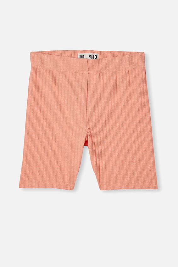Hailey Bike Short, MUSK MELON RIB