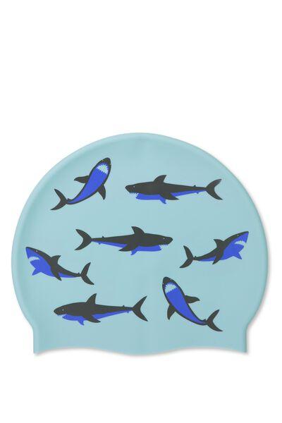 Swim Cap, SHARK