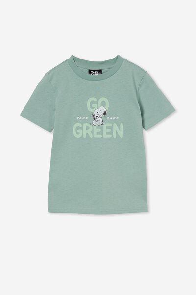 Co-Lab Short Sleeve Tee, LCN PEA SMASHED AVO / GO GREEN