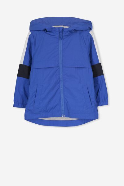 Houston Spray Jacket, ULTRA BLUE SPLICE