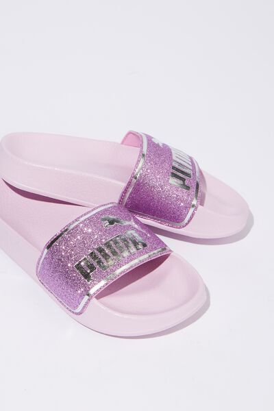 Puma Cat Slide Youth, WINSOM ORCHID SILVER