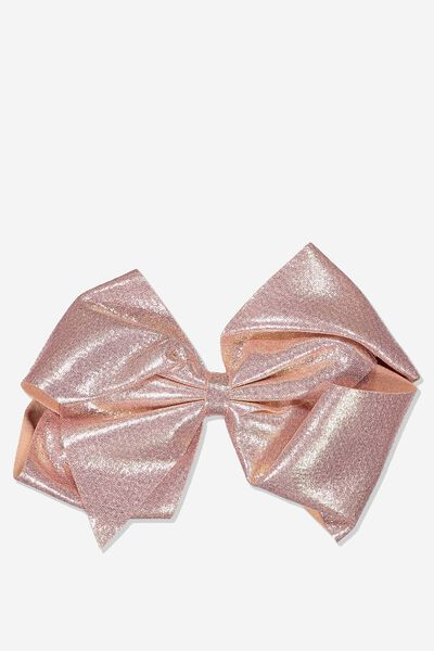 Statement Bows, ROSE GOLD FOIL
