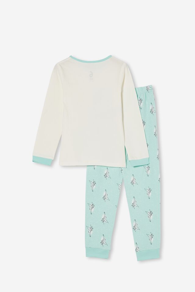 Florence Long Sleeve Pyjama Set Licensed, LCN DIS TINKERBELLE FAIRY DREAM BLUE