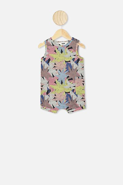 Tommy Romper, LCN WB NORTHERN/WILD LEAVES