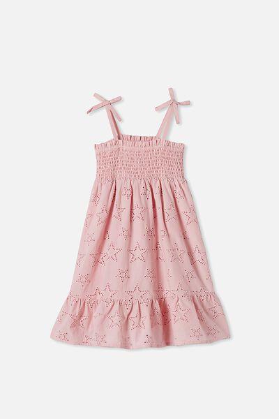 Lily Mae Sleeveless Dress, BLOSSOM PINK