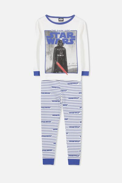 Harry Long Sleeve Boys PJ Set, LCN STAR WARS DARK SIDE