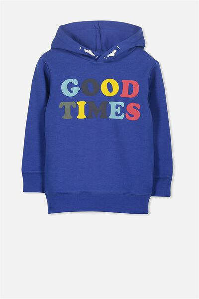 Liam Hoodie, ADMIRAL BLUE/GOOD TIMES