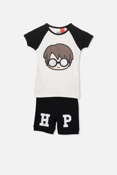Angus Boys Short Sleeve PJ Set, LCN YOURE A WIZARD HARRY