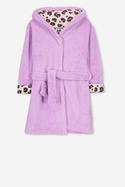 Girls Hooded Gown, ANIMAL BUNNY