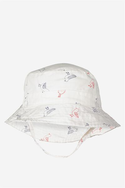 Baby Bucket Hat, SEAGULLS