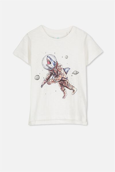 Max Short Sleeve Tee, VAN SLUB SPACE SHARK/SIS
