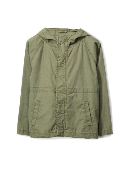 Lincoln Utility Jacket, WASHED KHAKI